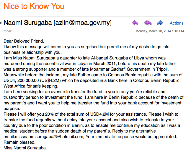 What Startups Can Learn From Nigerian Scammers? 2