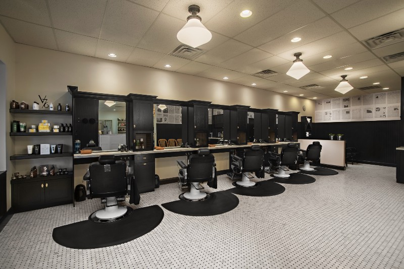 wise image photography joey and mallory bleilerspecial to the sun the barbershop side of le reve salon barbershop marries vintage dcor with a modern - Salon Modern Evintage