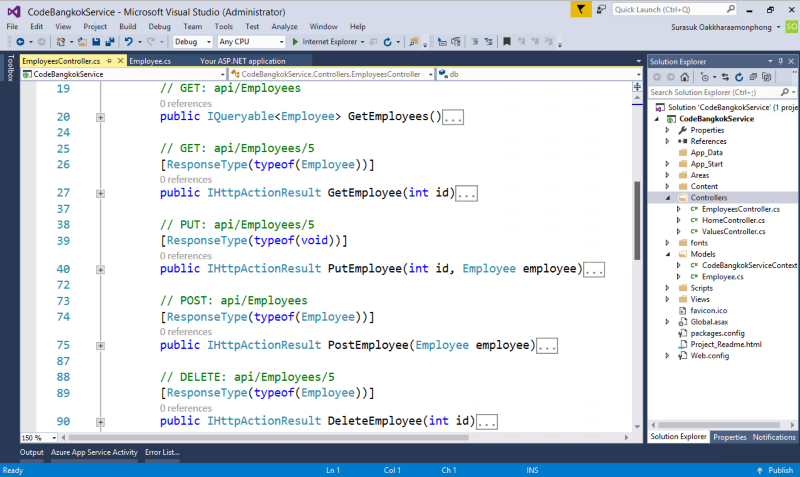 how to create rest api in asp net