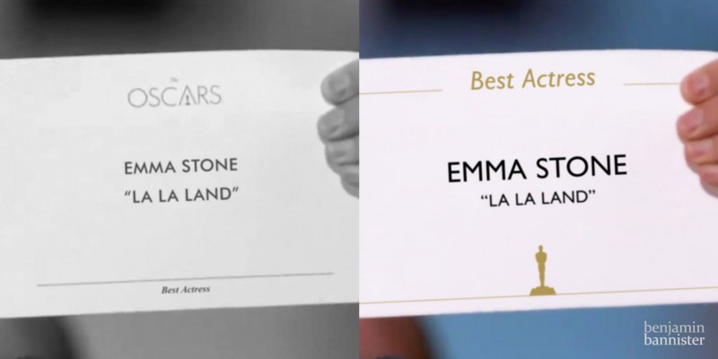 Why Typography Matters — Especially At The Oscars