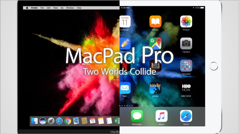 What Would an Apple MacPad Pro Look Like?