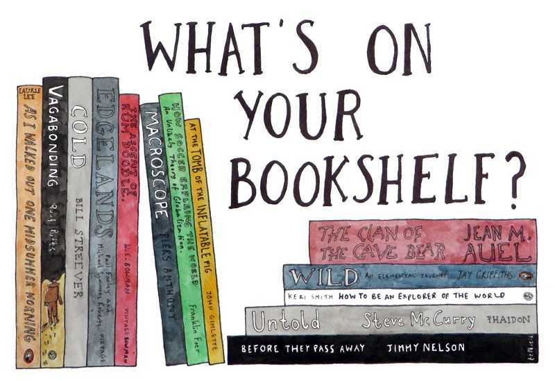 Image result for what's in your bookshelf