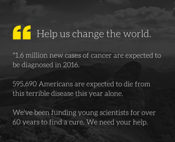 A New Year: Thoughts on 2016 and the Road Ahead - Cancer Research
