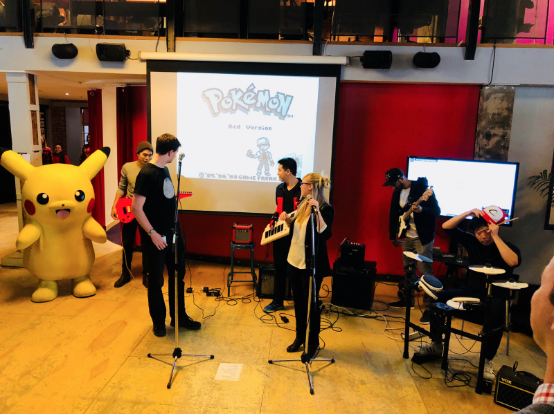 Achievers Band with Pikachu