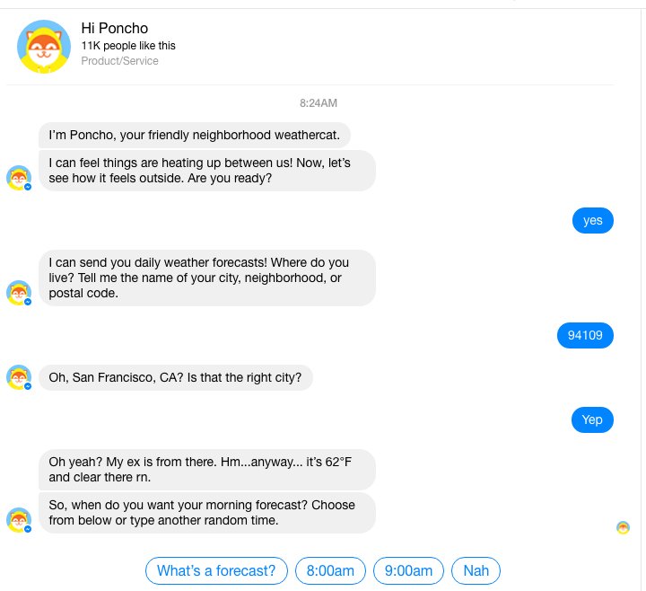 chatbot onboarding process example