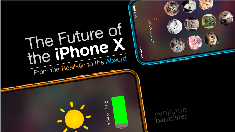 The Future of the iPhone X: From the Realistic to the Absurd
