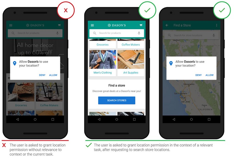 Mobile UX Design: The Right Ways to Ask Users for Permissions