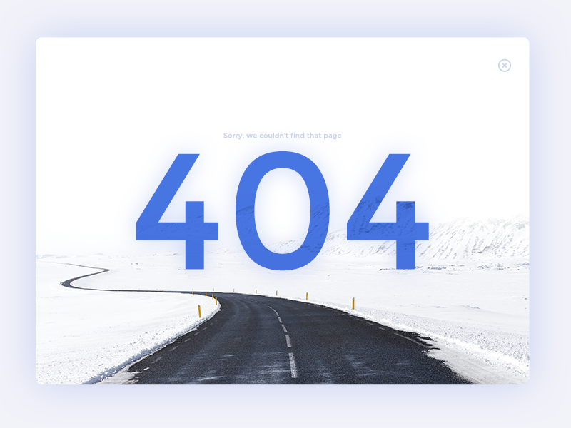 how to create 404 error page