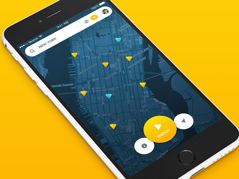 maplocation ui inspiration � muzli design inspiration
