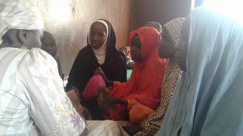 Aunty Aisha captures the attention of children with her rich, poetic and wise oratory