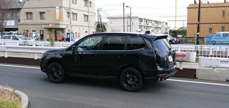2018 Subaru Forester — Ready for Improvement — Spied Testing in Japan