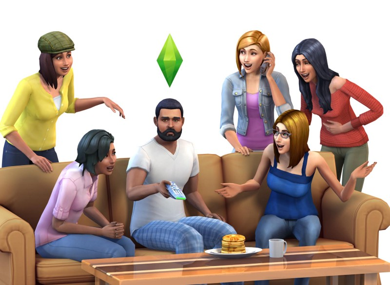 The popular computer game: the sims