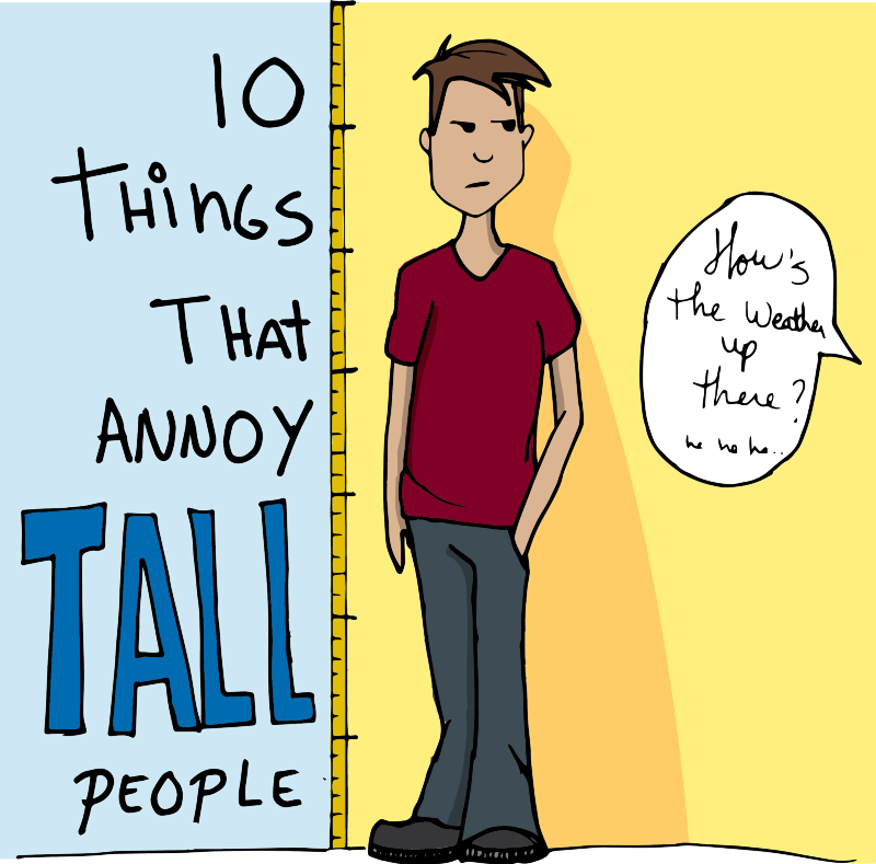 how to say how tall you are in frenhc