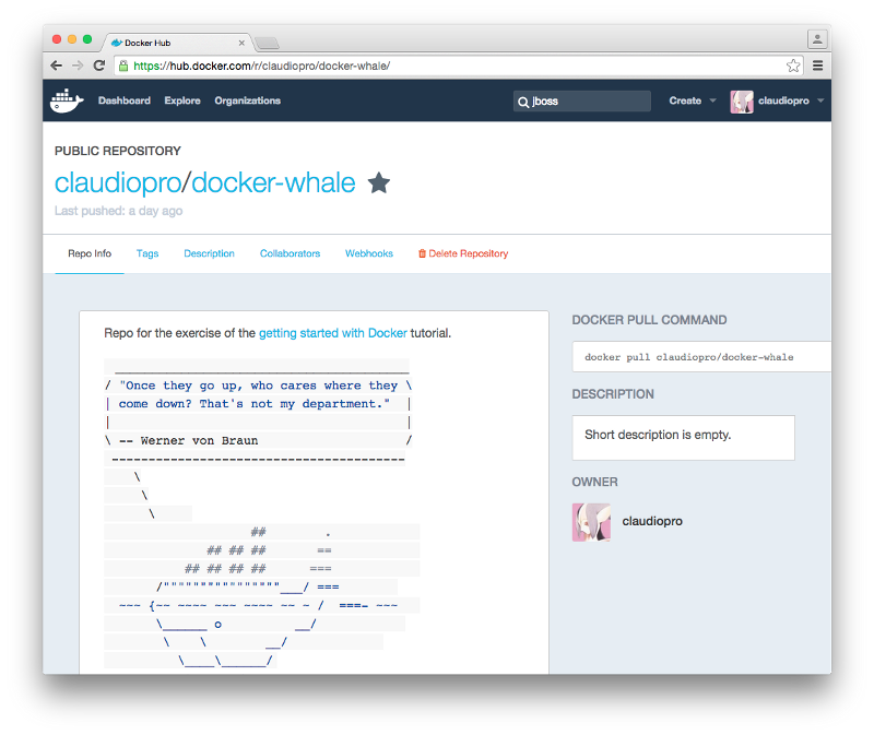 First Steps With Docker
