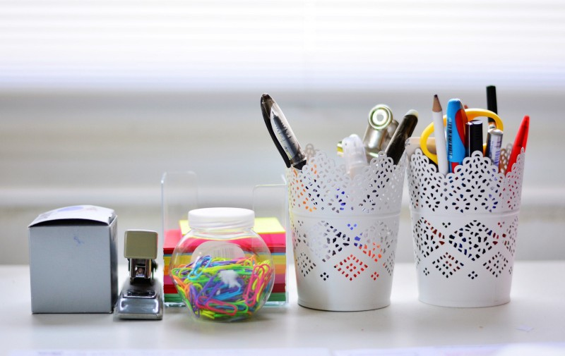 Better Organise Your Stationery to Save Time, Money & Stress