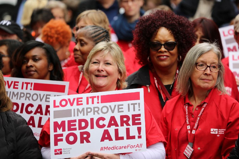 Medicare for All PhRMA Action in Washington DC