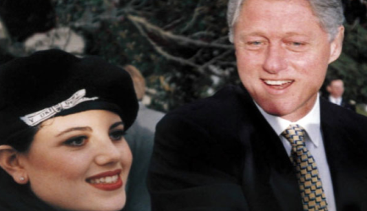You tell. monica lewinsky and bill clinton really. was