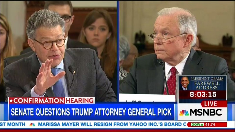 Schumer Announces He's Opposing Sessions for AG