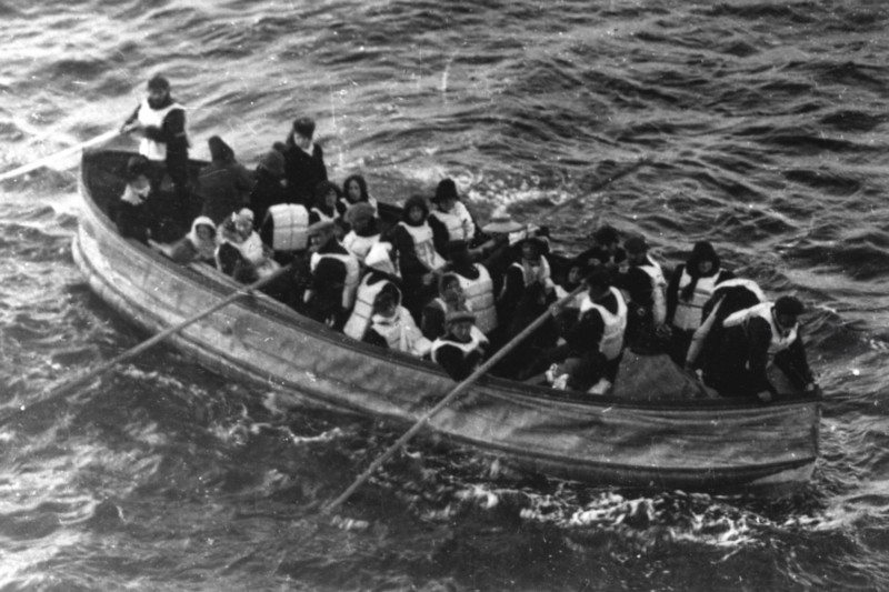 The lifeboats on the Titanic weren't sufficient to save all the passengers