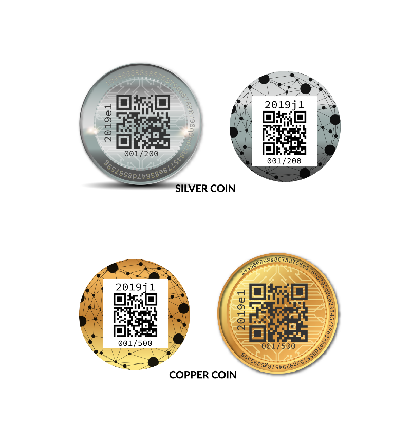 LuxTag coin