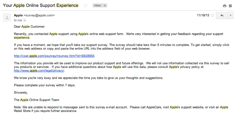 3 Email Templates for Recruiting All The Users You Need in 24 Hours – Email Survey Template