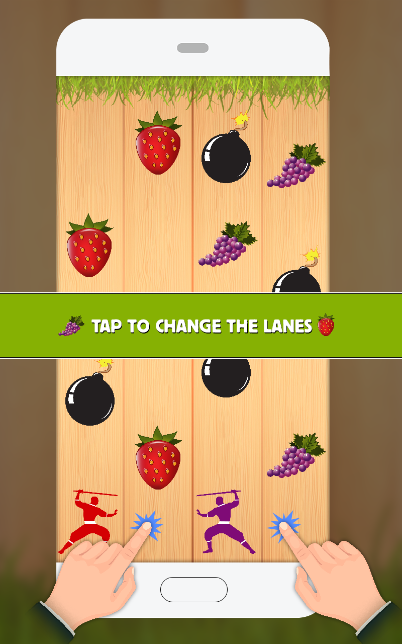 Fruit ninja cut - Different Colors Of Fruits Juice Splashes Into The Air And Splash Into The Wall While Ninja Cut The Fruits Bringing Exciting Perspectives For The Players