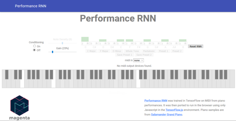 RNN Music Example