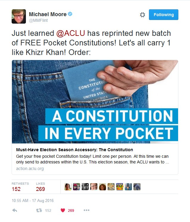 aclu pocket constitution free