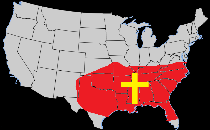 Image result for bible belt