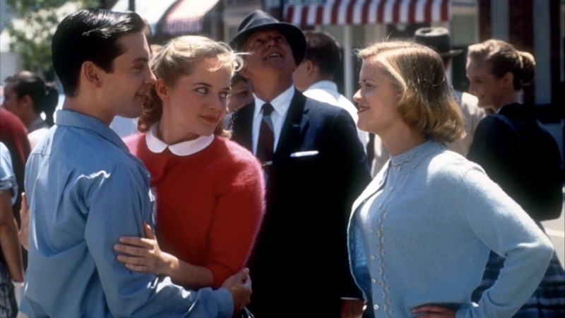 pleasantville film review Web links find out more about pleasantville at: movie review query engine the internet movie database the bbc is not responsible for the content of external websites.