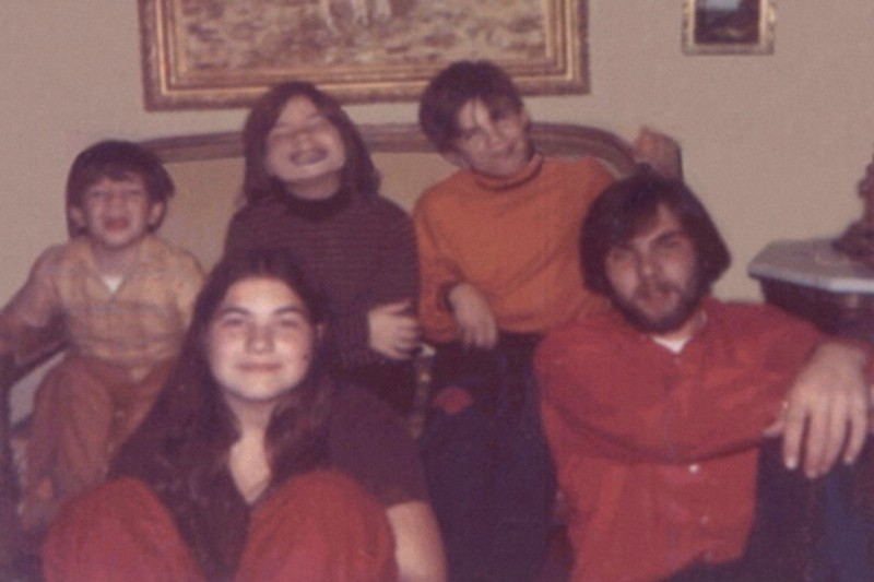 Butch Defeo—right, with his 4 siblings