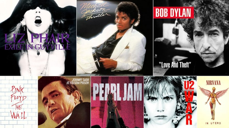 Rolling Stone's 500 Greatest Albums Visualized Using Pandas and Bokeh