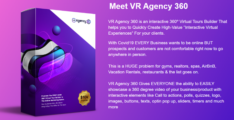 What Is VR Agency 360