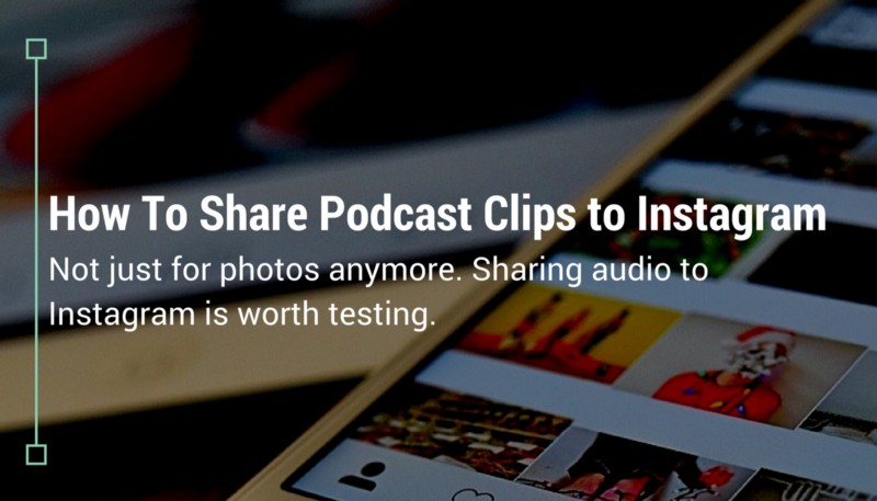 How To Share Podcast Clips to Instagram - Wavve
