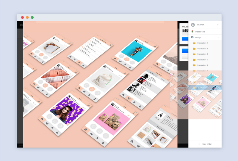 the way i organize my dragdis folders is by week each week i create a new inspiration folder its a great way to track how my design tastes have changed