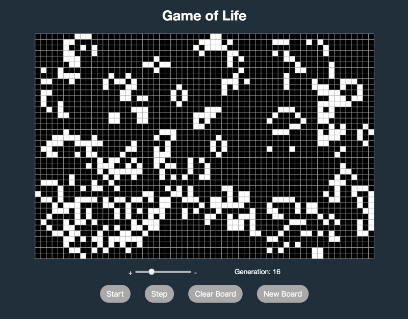 How to code the Game of Life with React