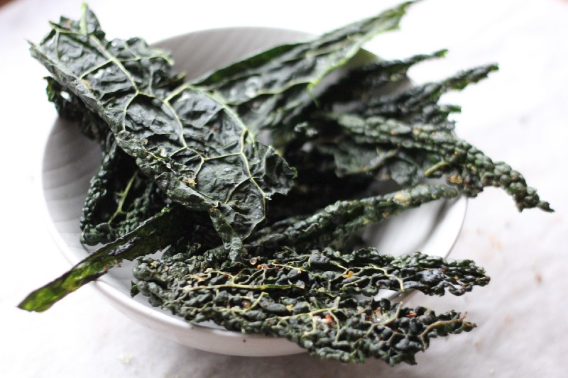 natural crispy snack kale