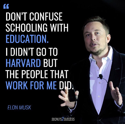 Schooled or educated