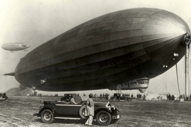 Zeppelin's fleet of airships had an impeccable safety record