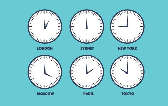 Different time zones in Remote Working