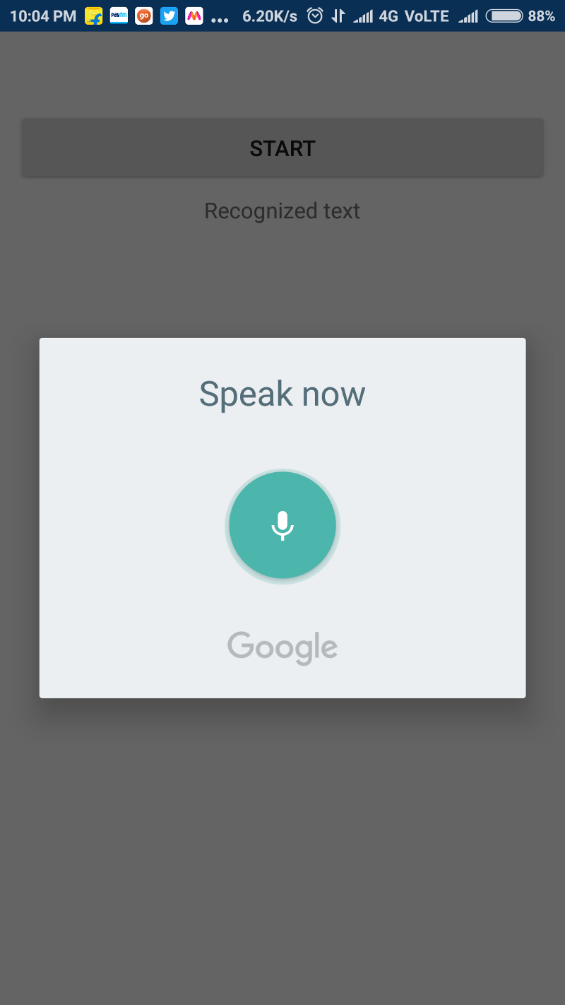 Android Speech Recognition Background Service Github