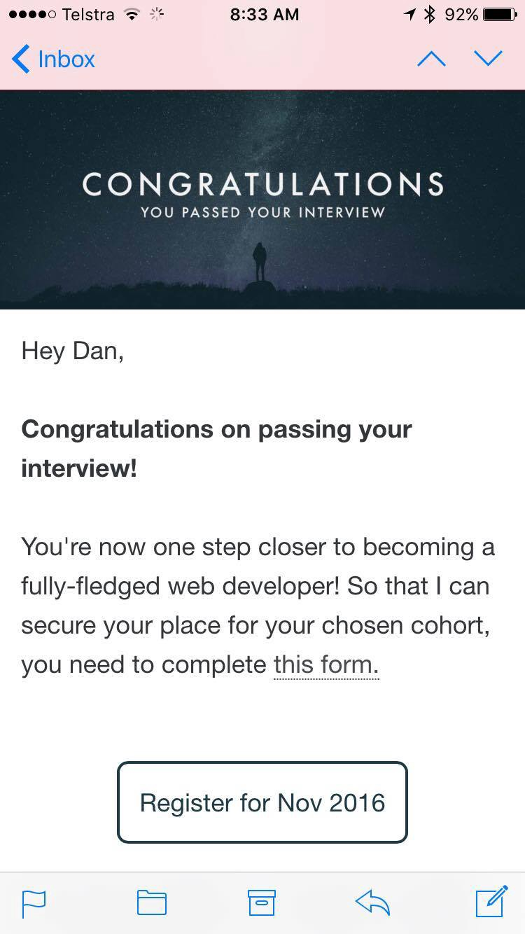 makers academy interview preparation dan pelensky medium i am beyond excited i can t even tell you how excited i am two weeks ago i couldn t tell you a thing about ruby and now i ve been accepted to