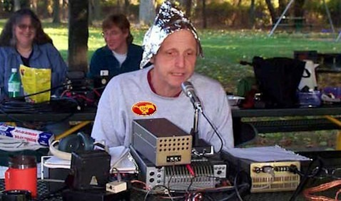 tinfoil conspiracy theories can be eliminated