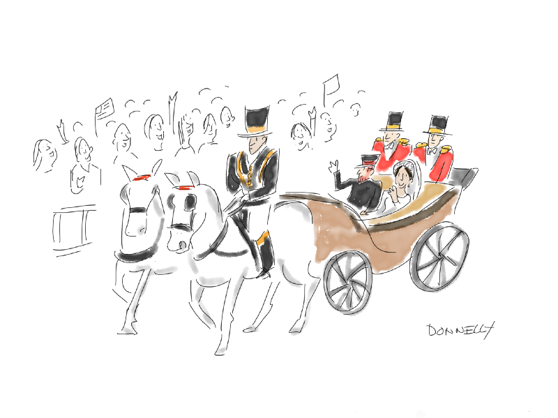 Drawing The Royal Wedding