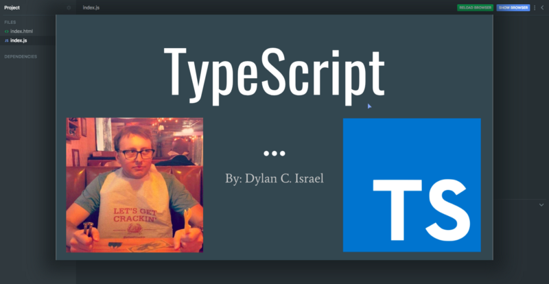 Learn TypeScript for free with this interactive Scrimba course