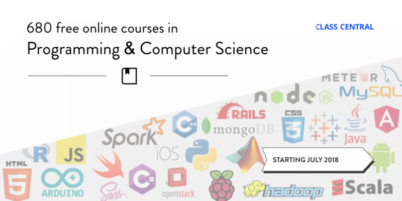 680 Free Online Programming & Computer Science Courses You