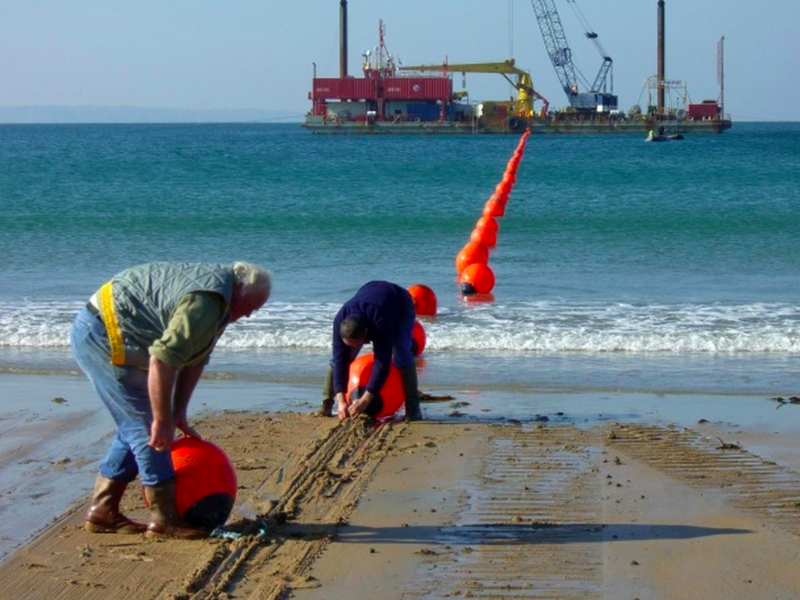 A submarine cable coming to shore. That cable meets a user need. Photo by Cable and Wireless Worldwide. Taken from[ZDNet](http://www.zdnet.com/pictures/submarine-cables-tie-the-world-together/2/).