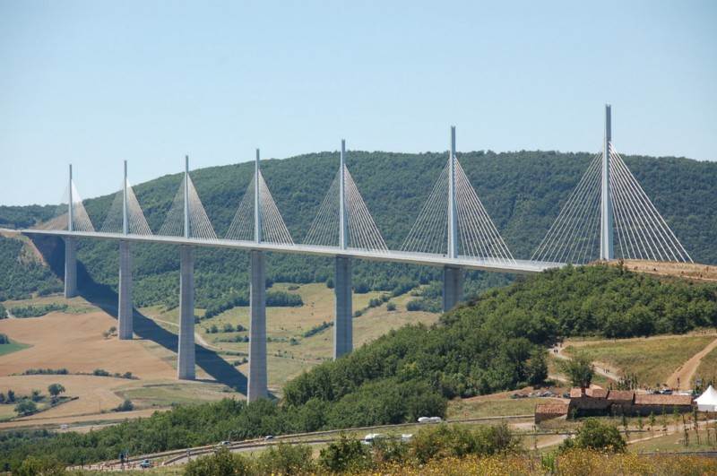 Millau Viaduct-France-bridges