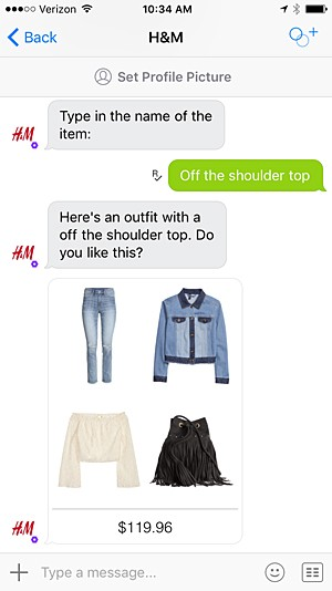H&M Fashion Chatbot