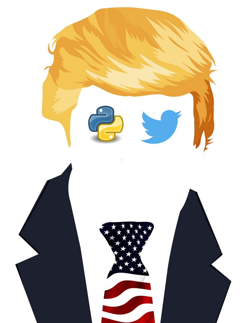 Learn Python by analyzing Donald Trump's tweets